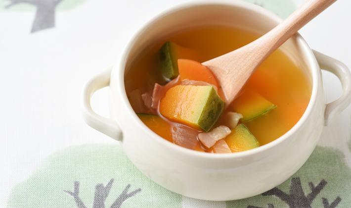 からだの芯から温めよう☆あったかスープ