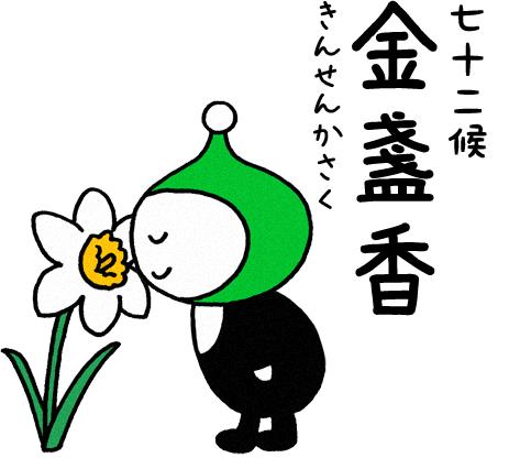 金盞香(きんせんかさく)