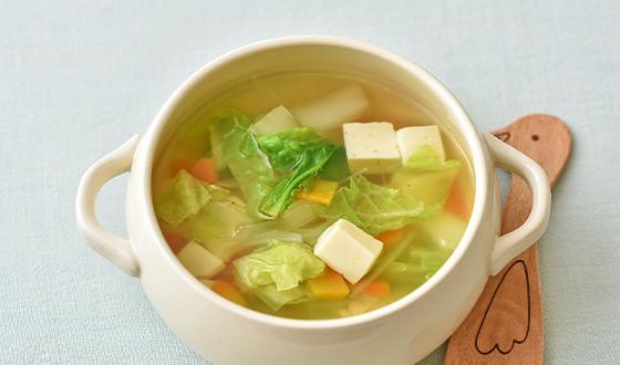 スープ コンソメ 白菜