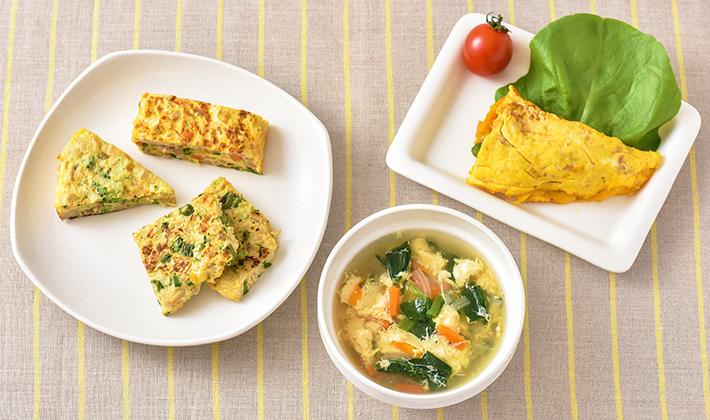 朝食にもおすすめ☆たまごを使ったアレンジレシピ