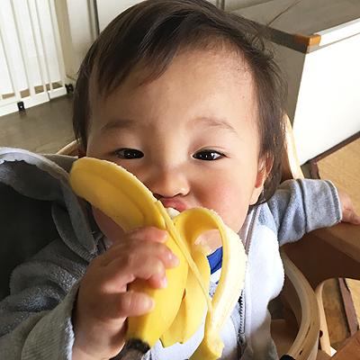 バナナが大好き!