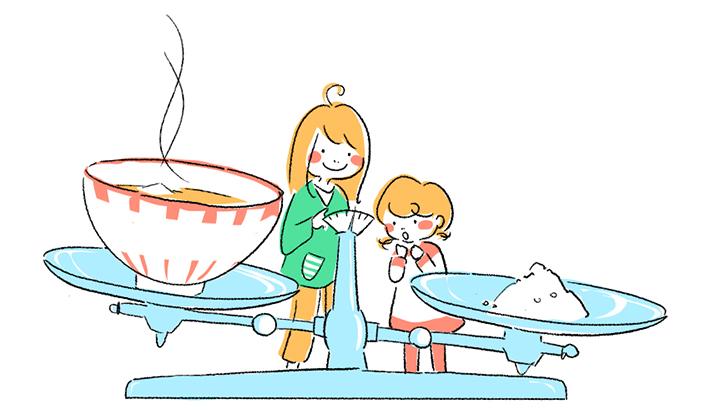 """""""うす味""""ってどんな味?<br><font>第二章~おいしいみそ汁ってどうやって作るの?~</font>"""