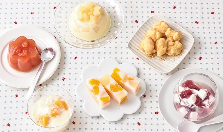 夏にぴったり!冷たいデザートレシピ