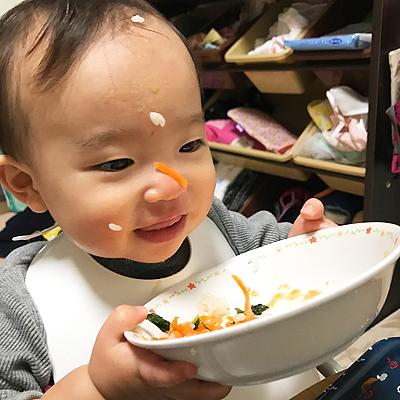 お皿も食べちゃうっ!