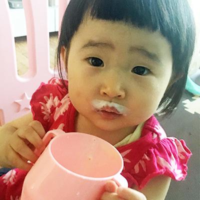牛乳大好き!