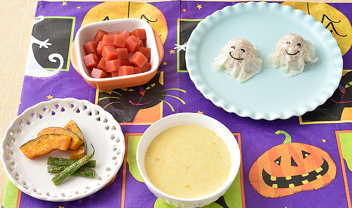 かわいいデコやビビッドな色彩で行事の食卓を楽しく♪ハロウィンにおすすめメニュー<font>【保育園の人気メニュー:10月】</font>
