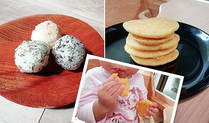 ママたちを悩ます「手づかみ食べ」レシピ~ご飯、米粉編~