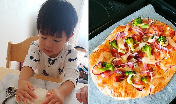 子どもと一緒に作る簡単お昼ごはん♪