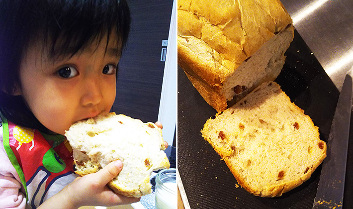 失敗知らずの絶品焼きたてパン