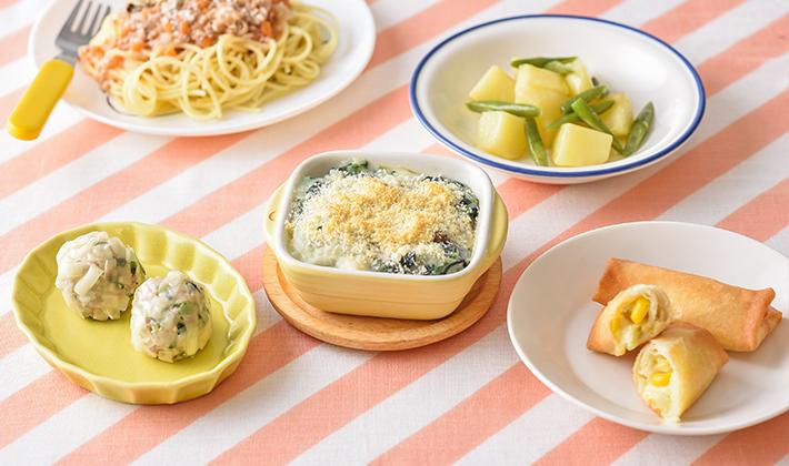 栄養バランスが整う♪麺の日の副菜レシピ