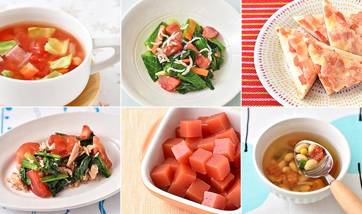 煮ても焼いてもおいしい♪夏が旬のトマトを使ったレシピ