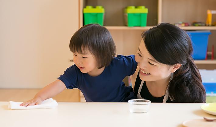 食事のお手伝いは手先の育ちにも!子どもの自立にも大切!