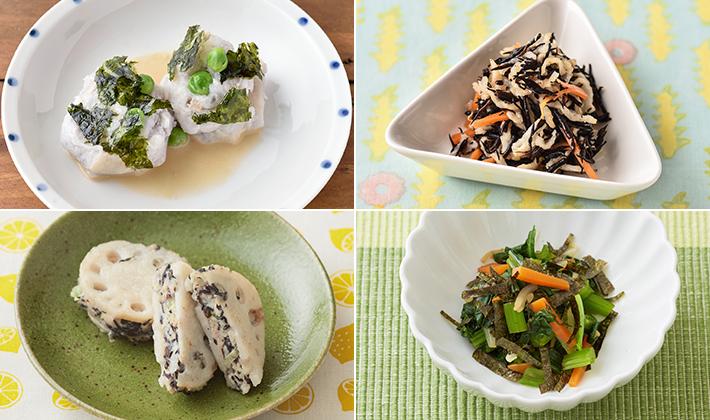 海の栄養を食べよう!おなかが喜ぶレシピ