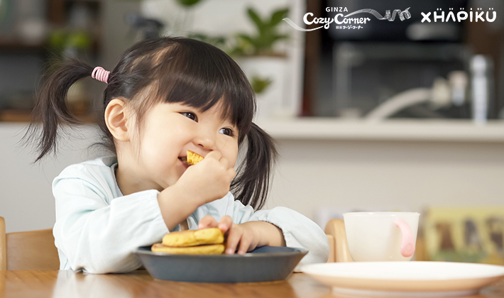 <font>銀座コージーコーナー×HAPIKU</font><br>食物アレルギーがあっても<br>安心して、楽しくおいしい食事を!