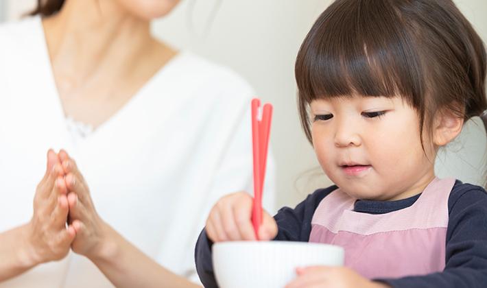 お箸を持たせる時の上手な教え方とは?